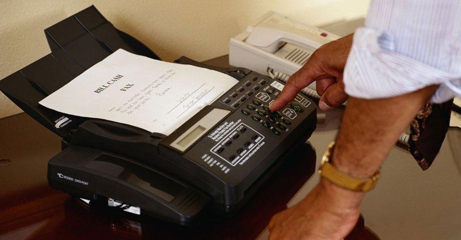 función del fax
